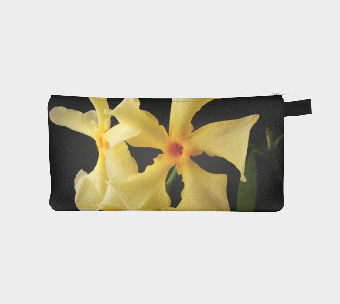 Star Jasmine Flower Pencil Case preview