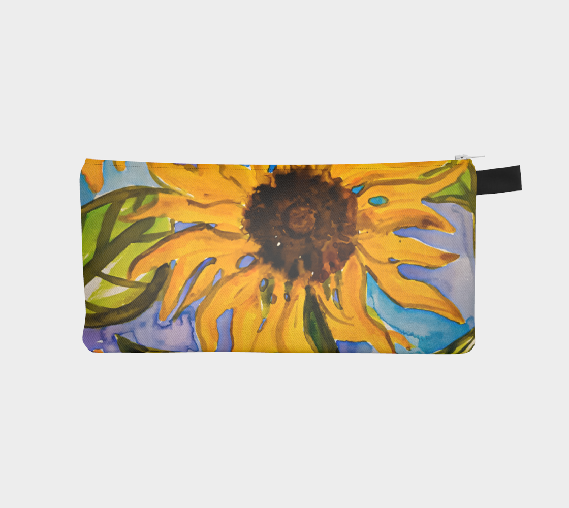 Sunny Sunflower Pencil Case preview