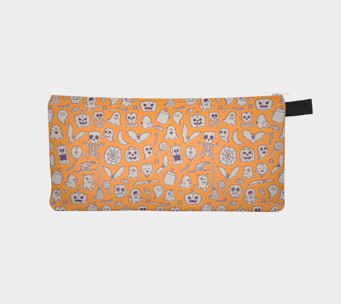 Orange Halloween Pencil Case preview