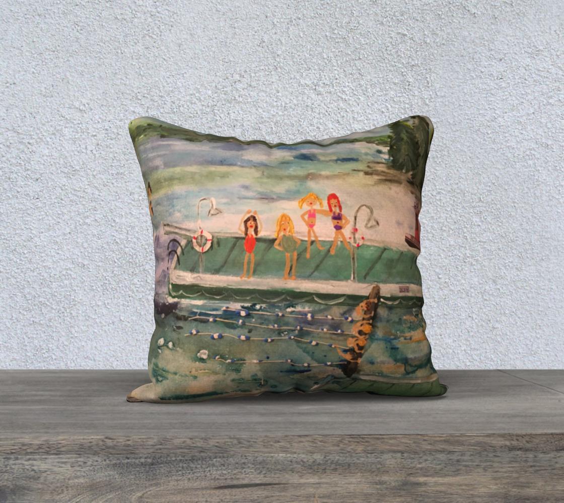 Aperçu de BYC Regatta 18x18 Pillow #1