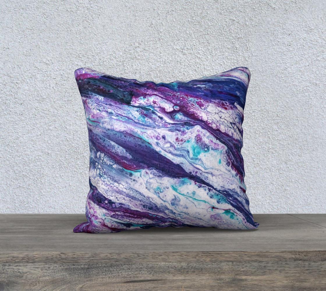 Purple Reigns Acrylic Pour Art preview