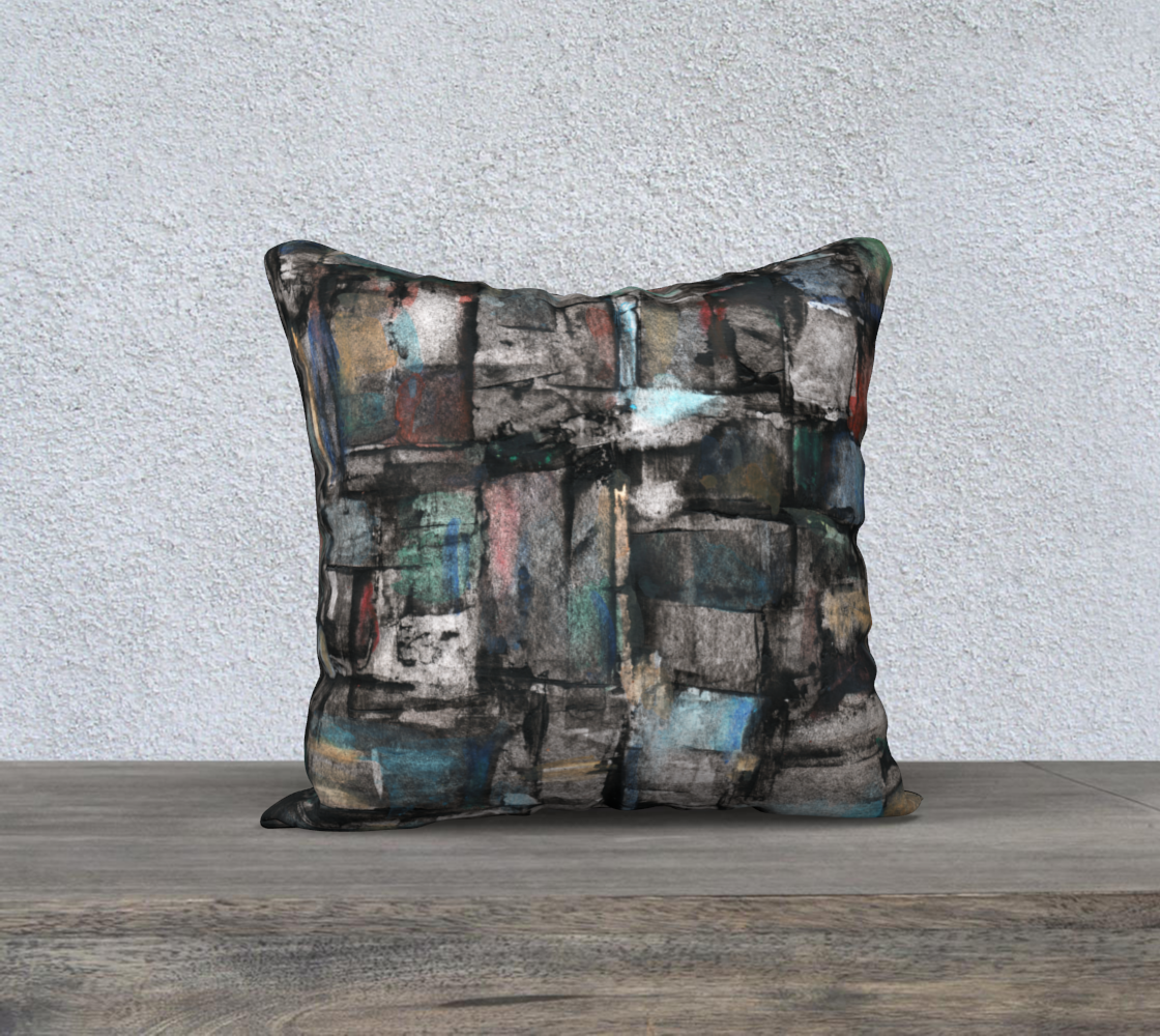 Ancient Ruins Pillow preview