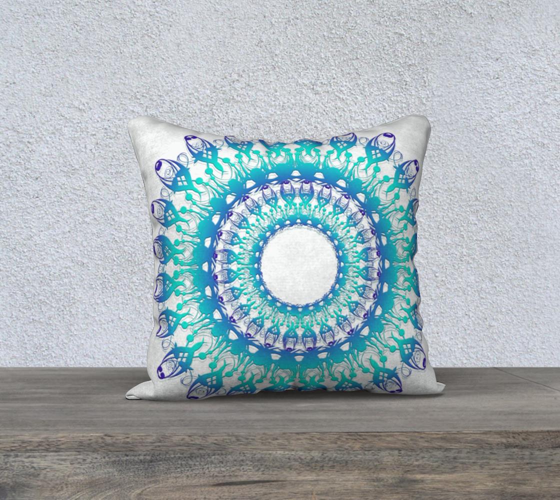 Aperçu de Floral Ethnic Turquoise Mandala