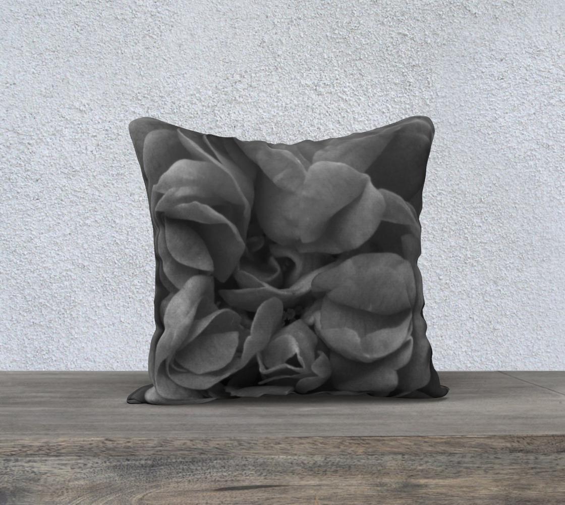 Aperçu de Black Rose Pillow 18 160527a