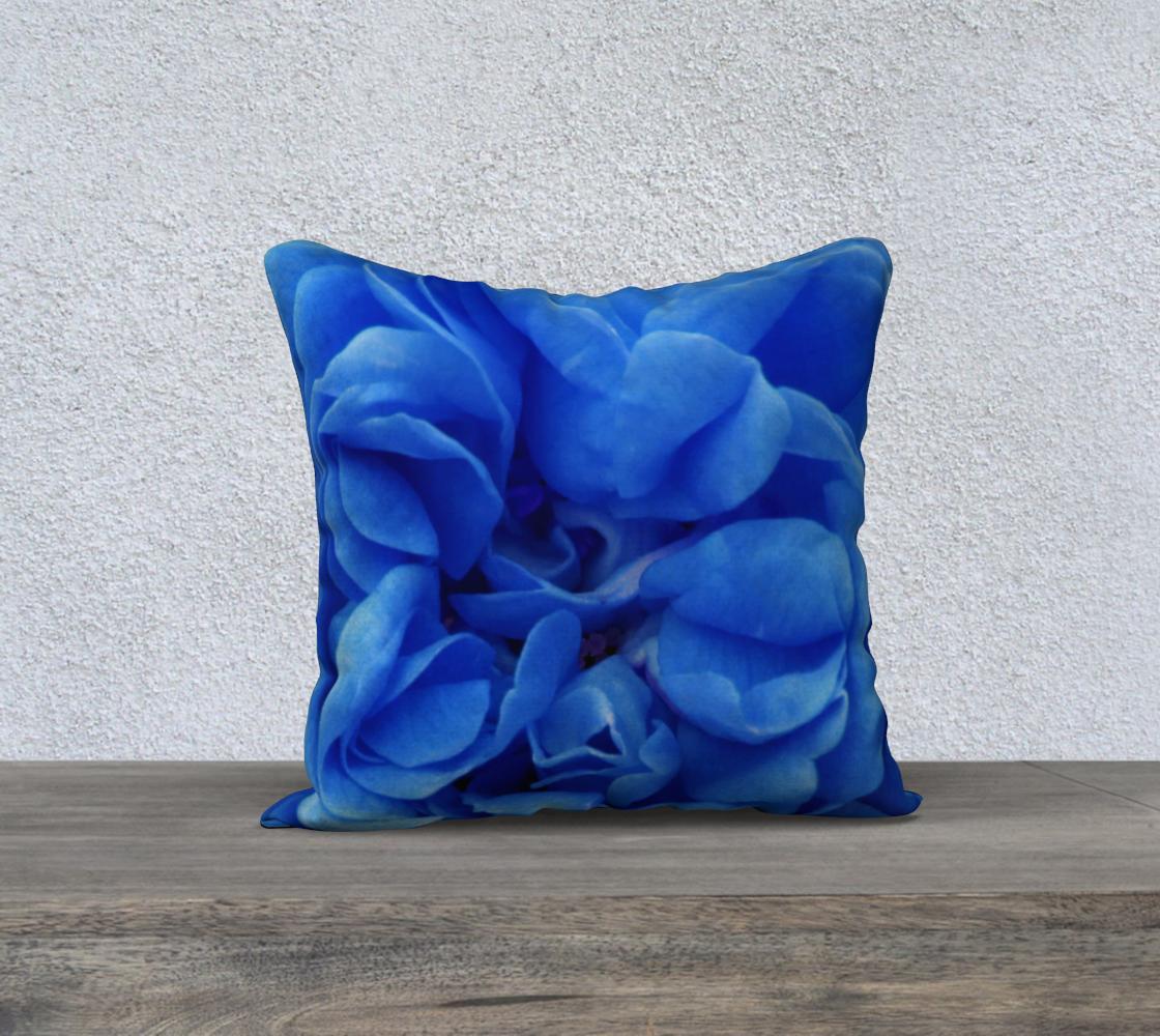 Aperçu de Blue Rose Pillow 18 160626a