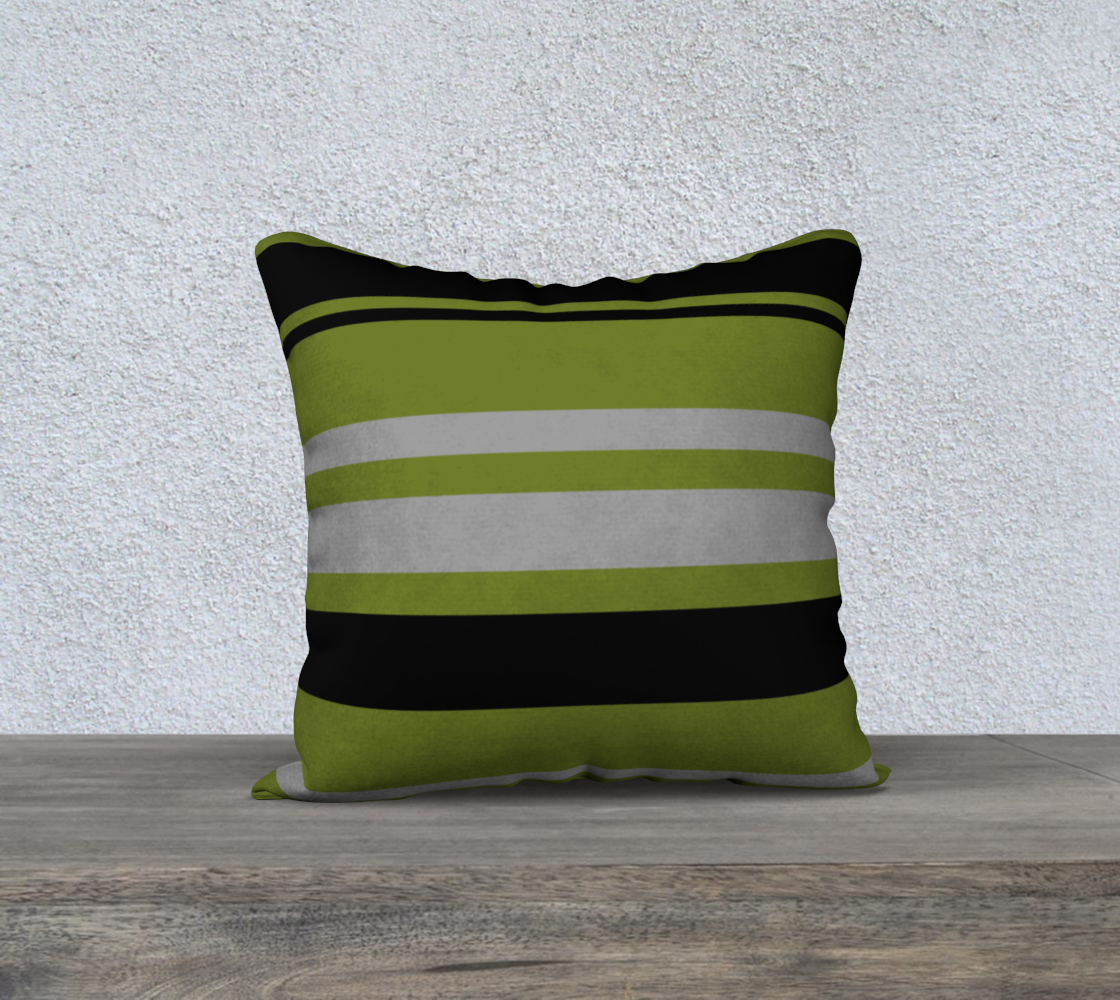 Stripes Green Gray and Black preview