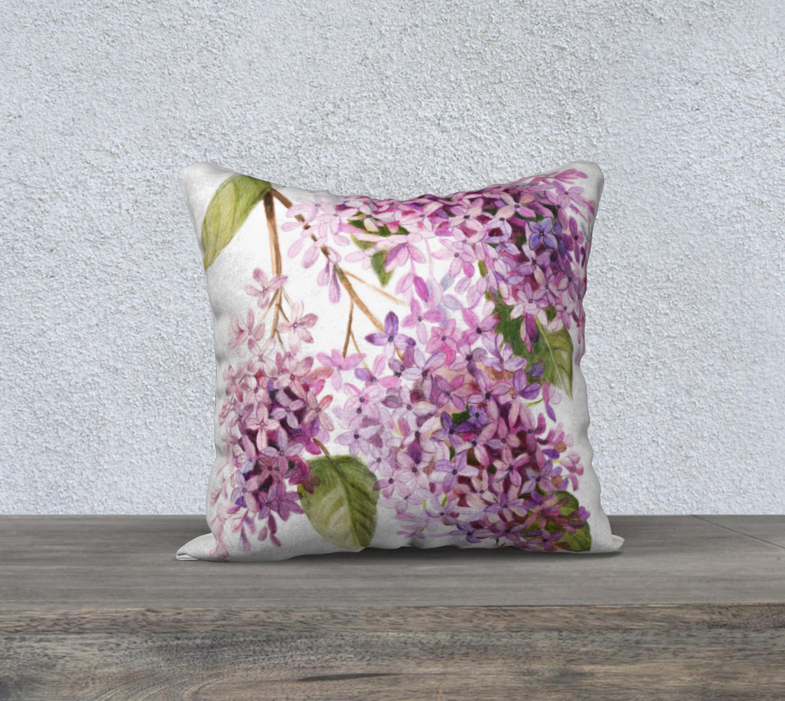 Lilacs Pillow Cover preview