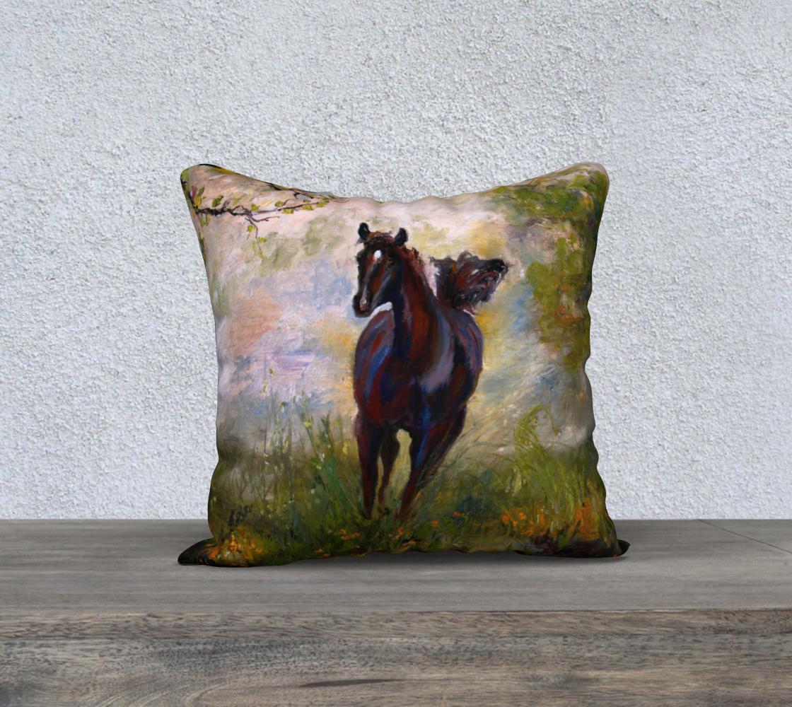 Running Free Horse Art preview