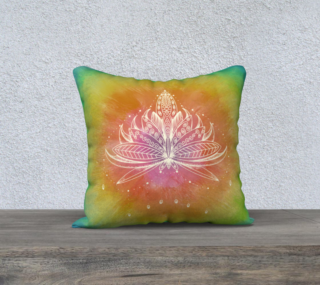 Aperçu de Lotus in Bloom - Pillow