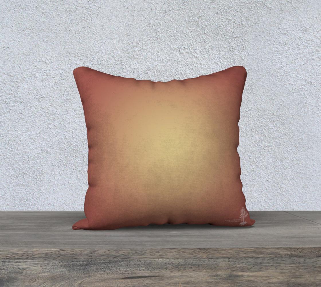 Moroccan Shells Mandala - Pillow preview #2