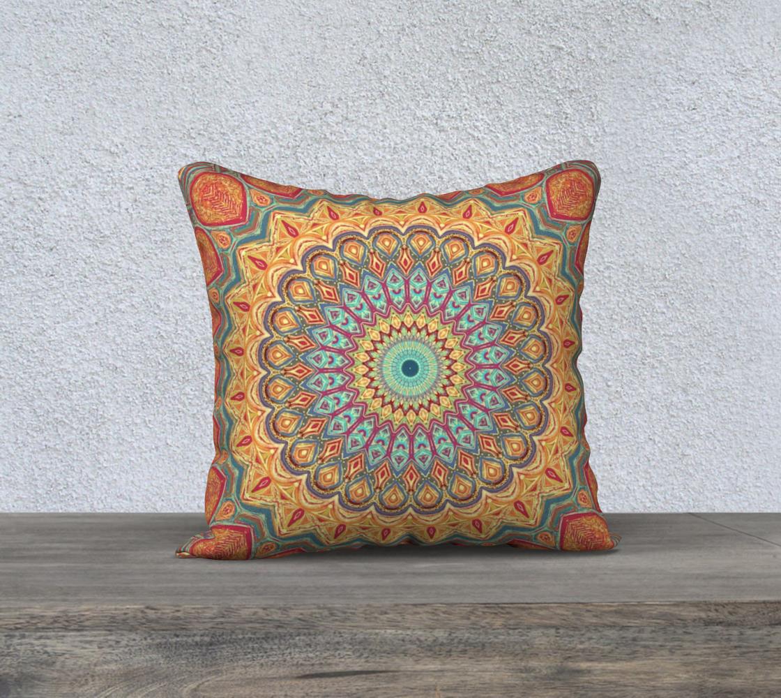Jewel Mandala Pillow Cover preview