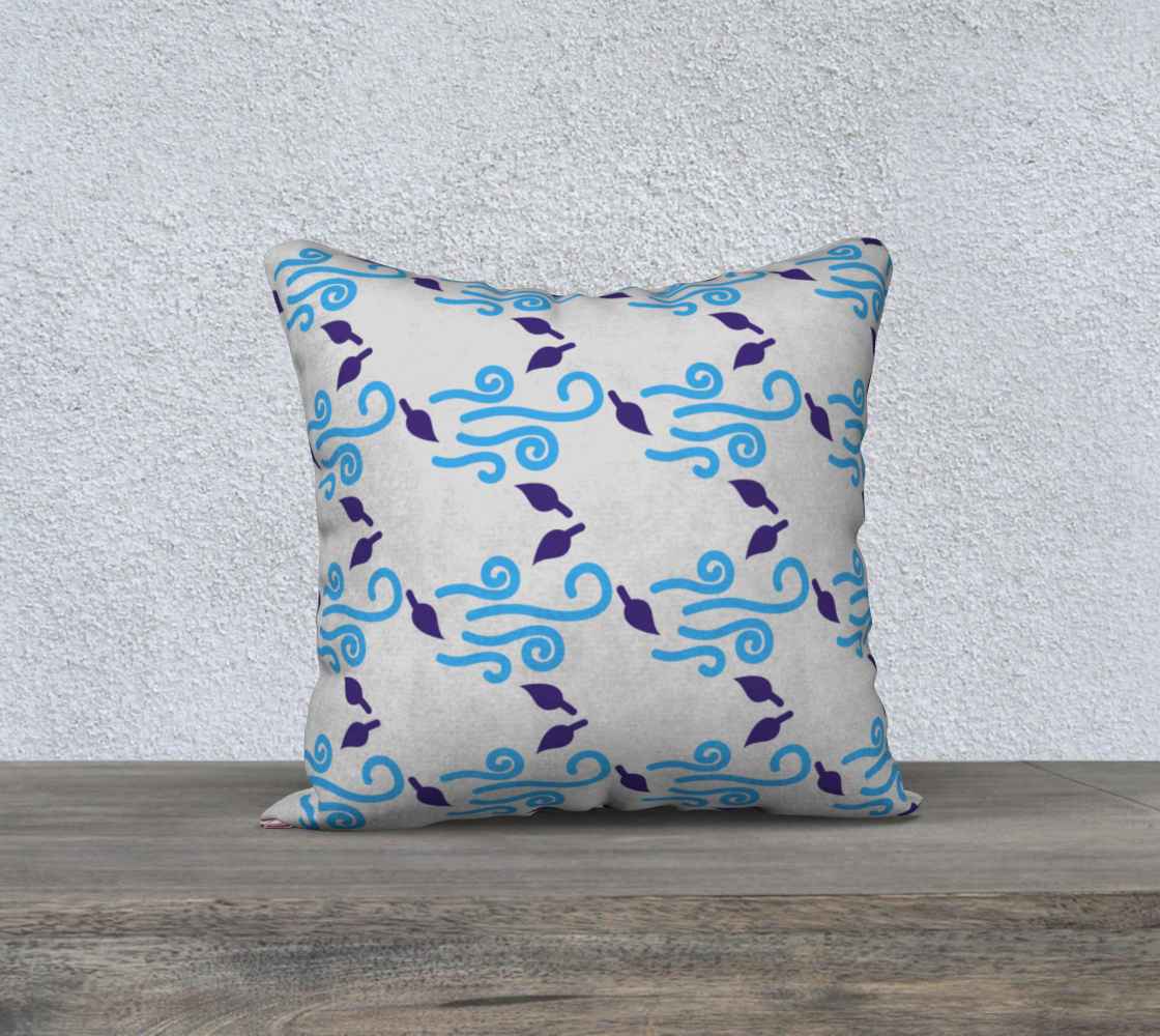 Aperçu de Simple Square Pillow,