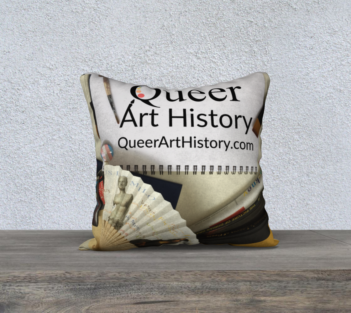 Queer Art History Pillow preview #2