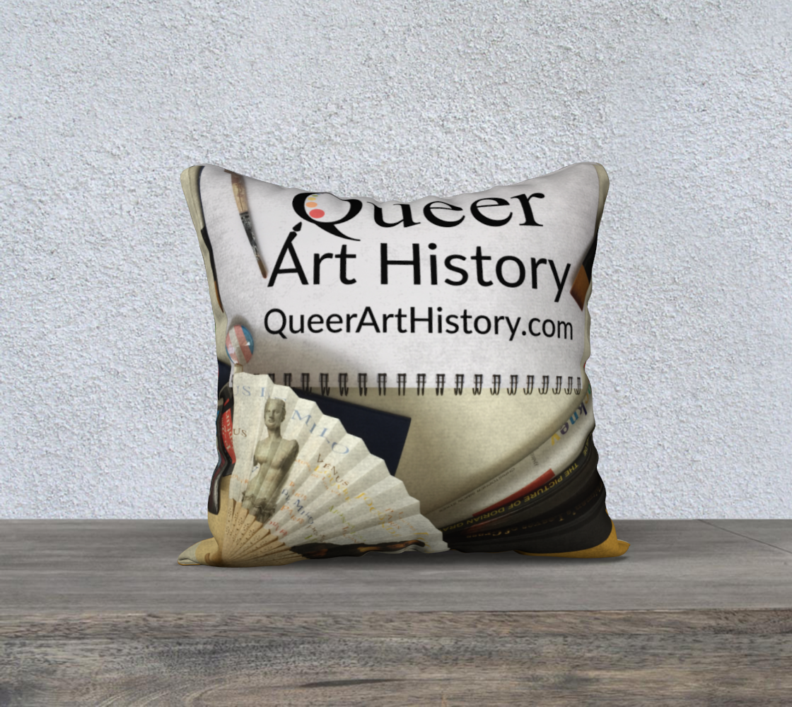 Queer Art History Pillow preview