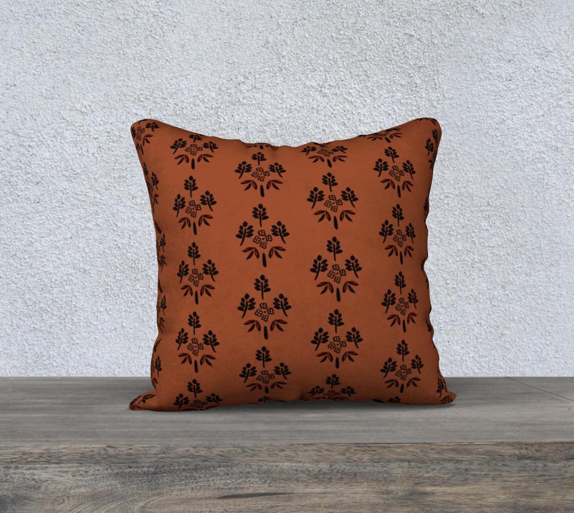 Aperçu de Terracotta motif cover 18x18