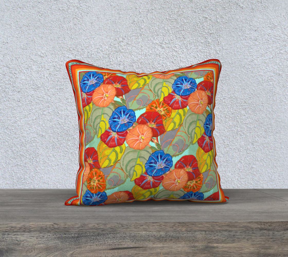 Hot Floral Cushion 18inch preview