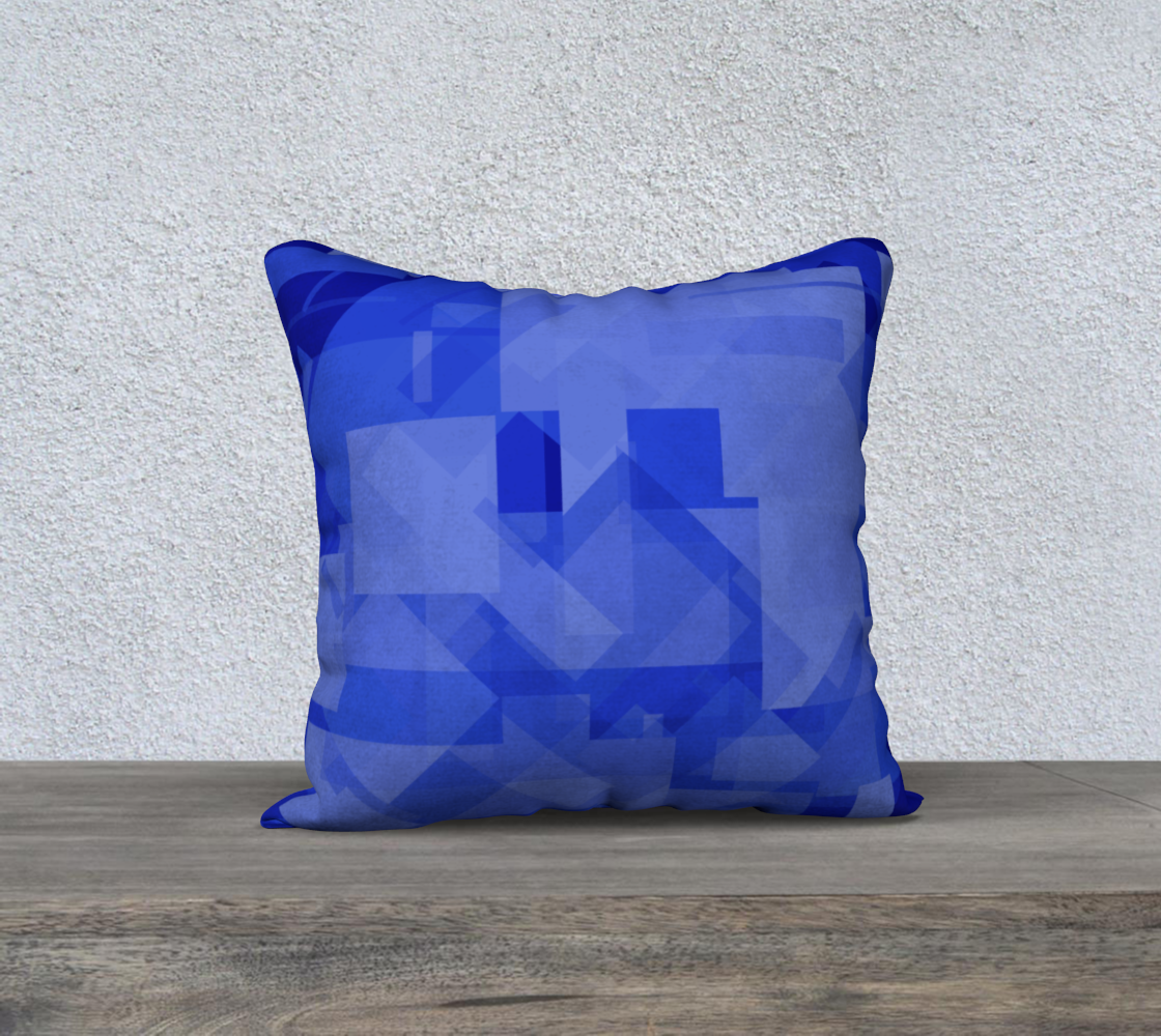 Blue is Better 18x18 Pillow Case preview