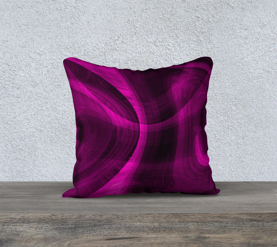 Pinkish Black Hole 18x18 Pillow Case preview