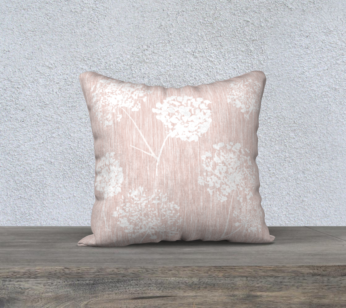 blush pink puff cover 18x18 preview