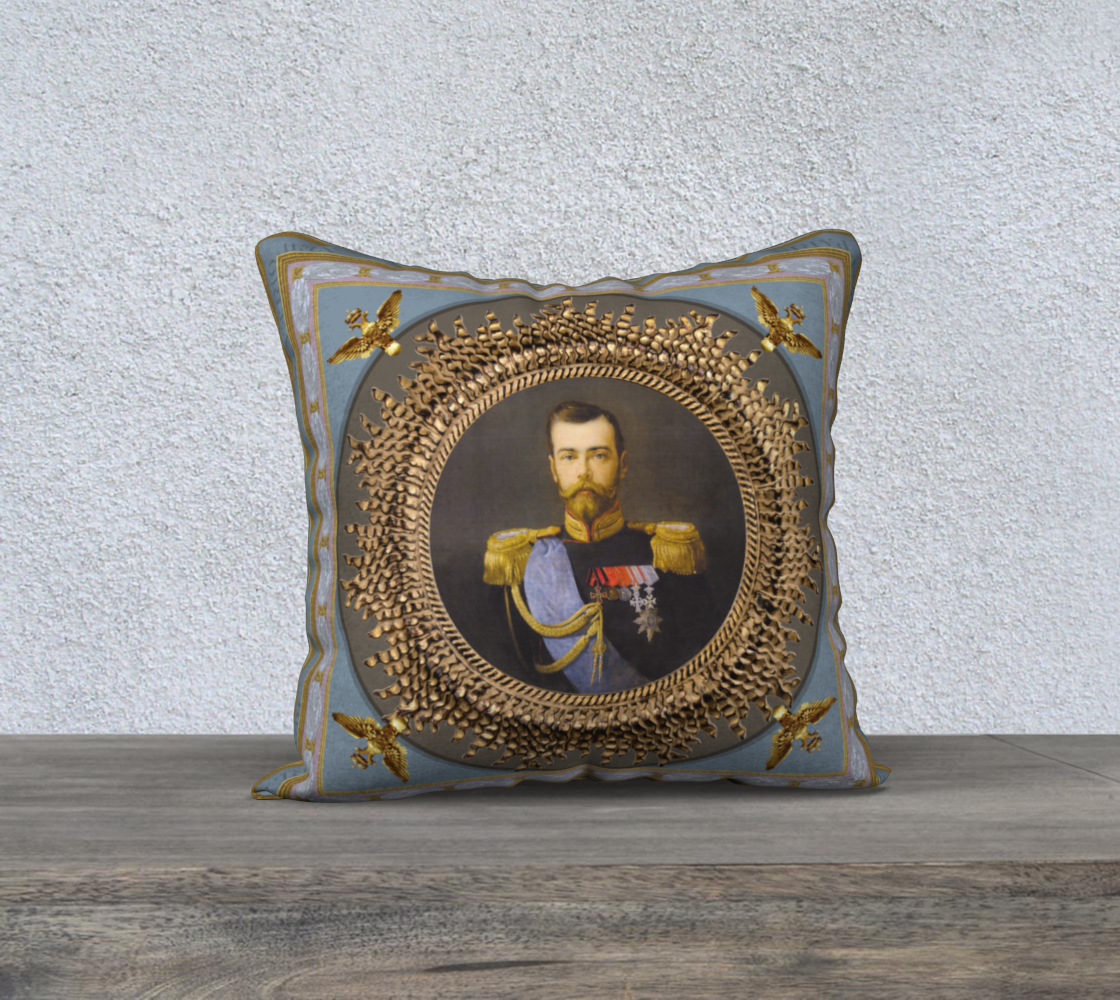 Czar Nicholas II Pillow preview