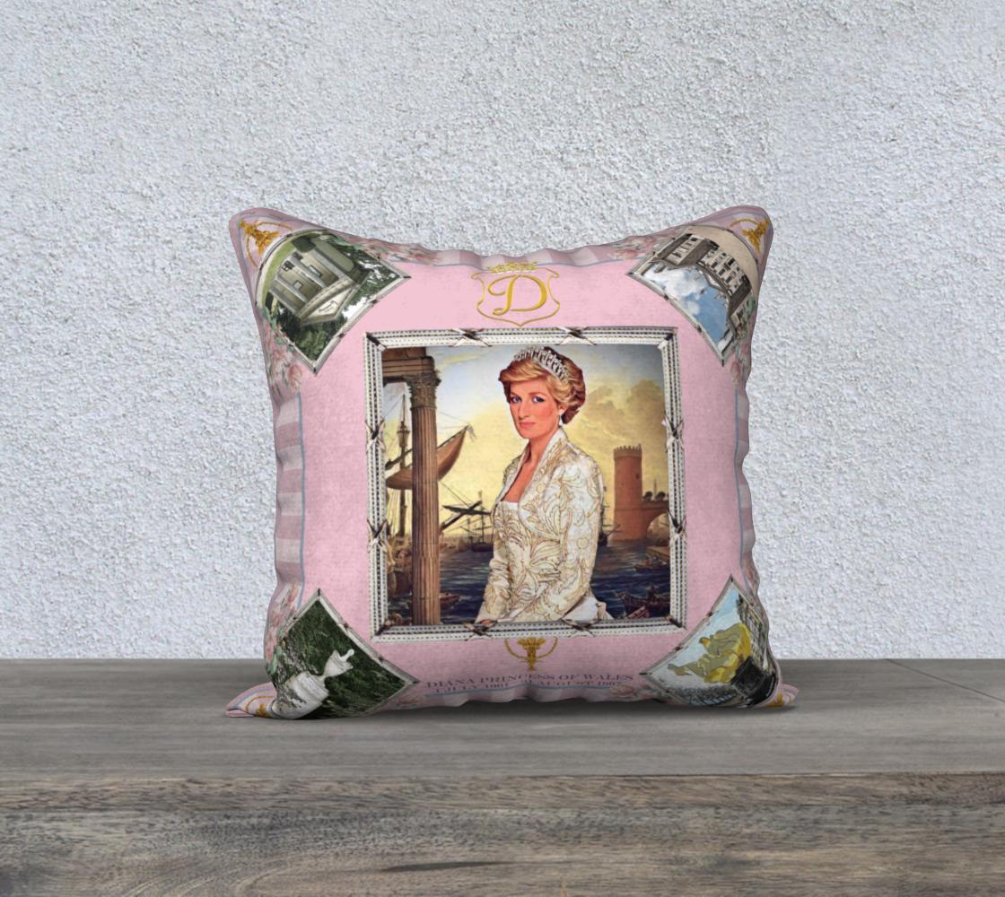 Princess Diana 60th Birthday Cushion preview