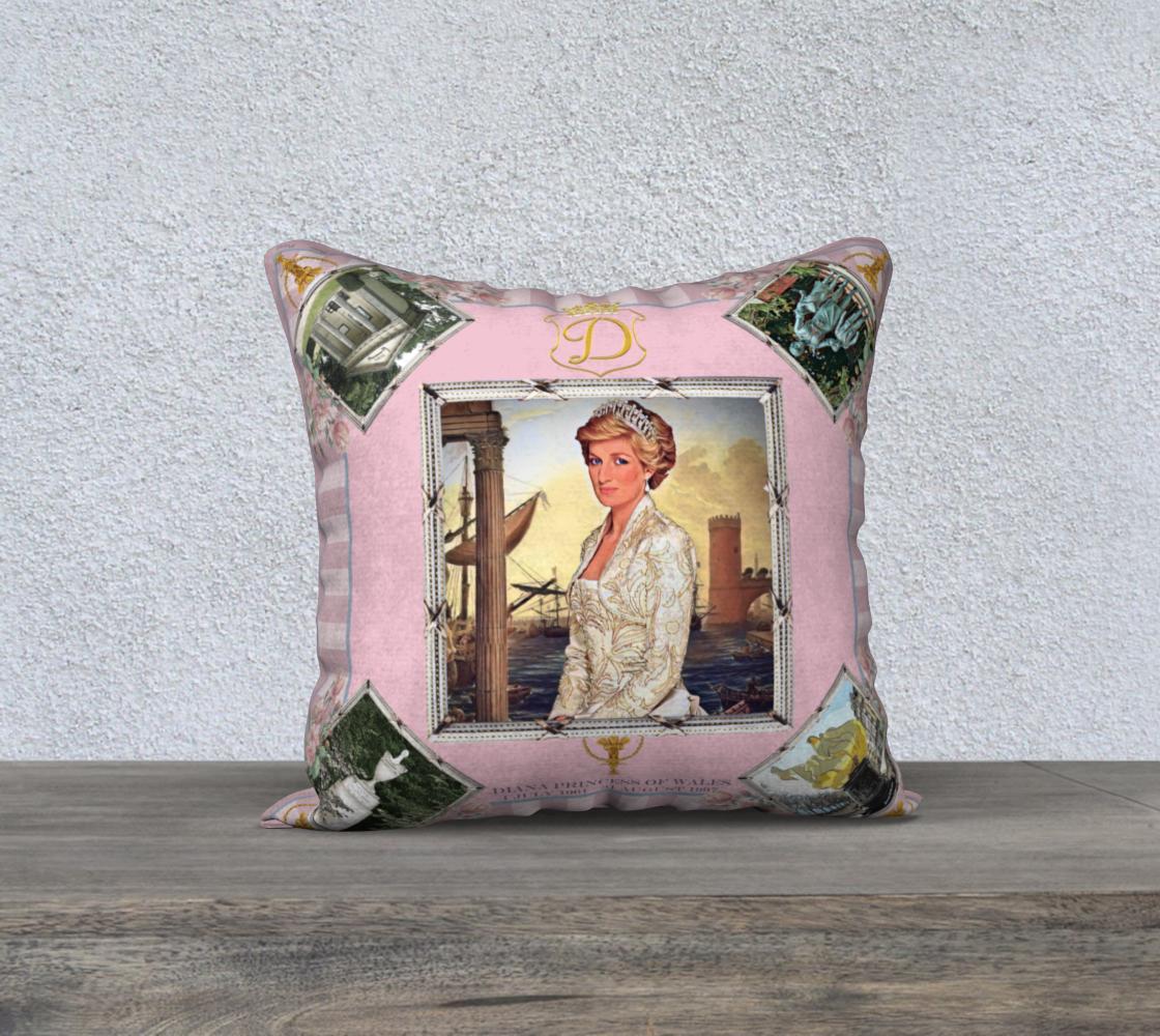 Diana Princess of Wales Pillow preview