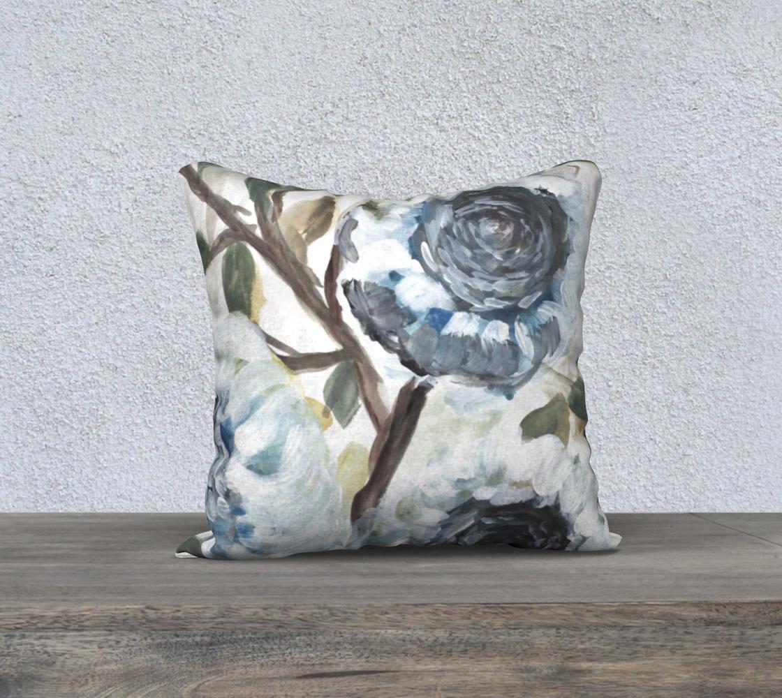farmhouse blue bush pillow 1 preview