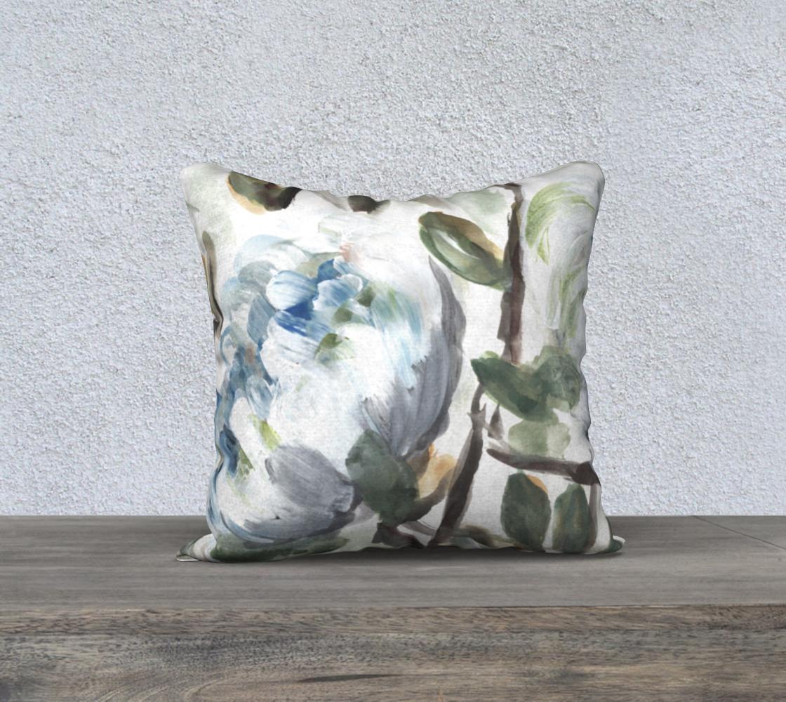 farmhouse blue bush pillow 2 preview