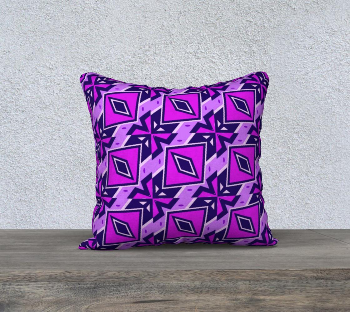 Aperçu de Fun Wild Purple Abstract