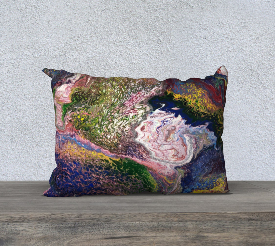 Its Mesmerizing pillow preview #2