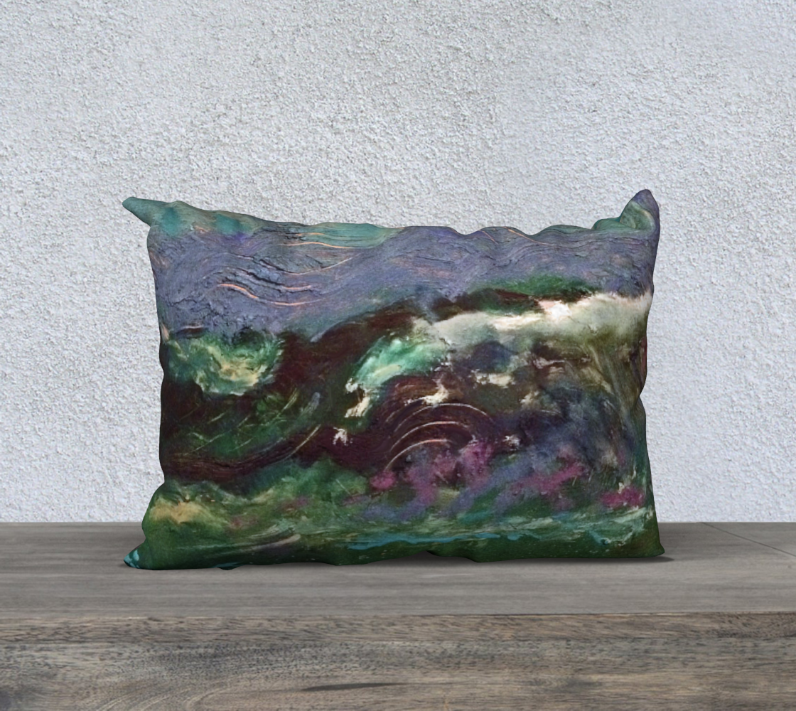 Night Waves Twilight Surf Pillow Case  preview