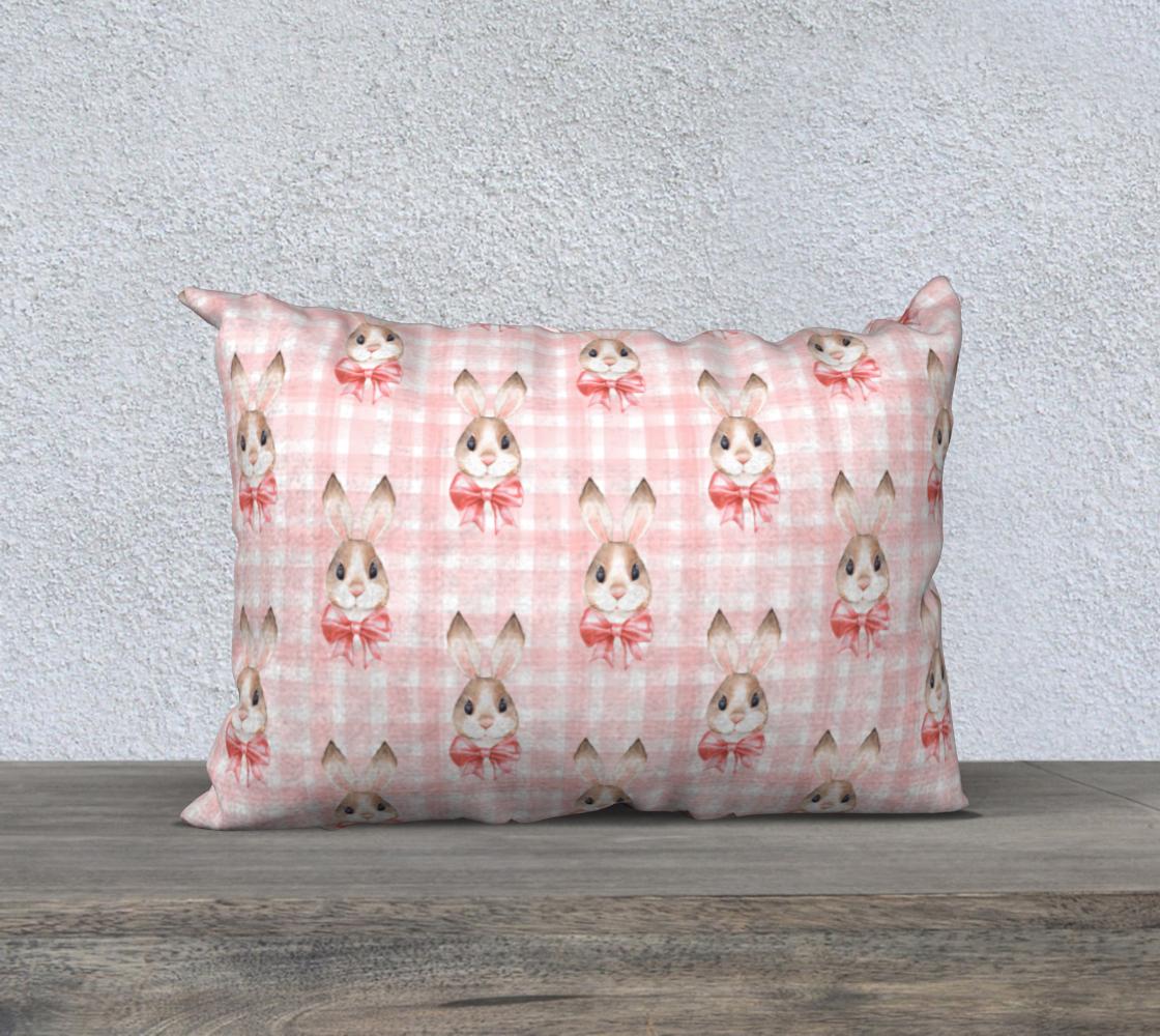 Aperçu de Rabbits. Pink pattern #1