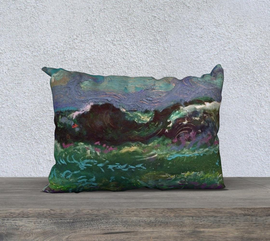 The Sea at Dusk / Devin Designer Pillow Case preview