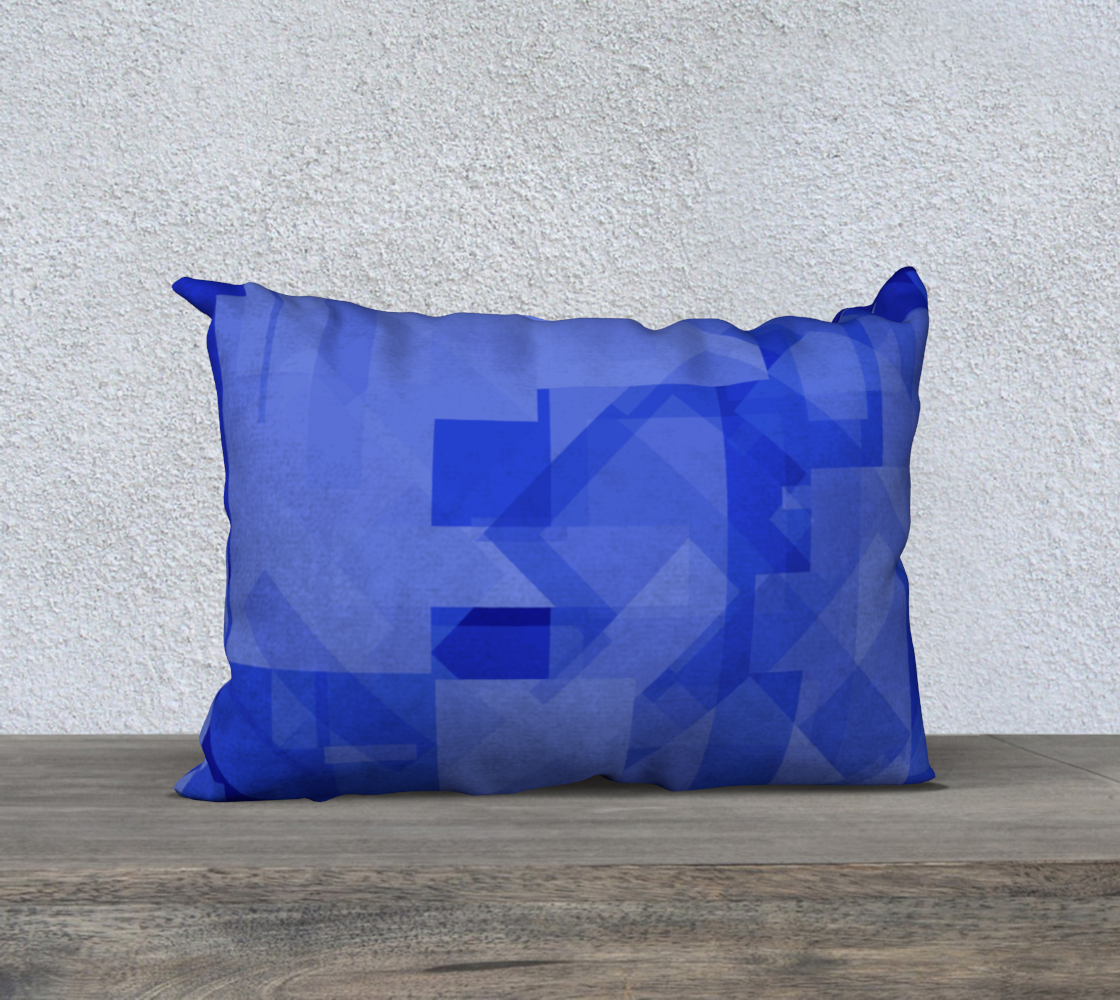 Blue is Better 20x14 Pillow Case preview #2