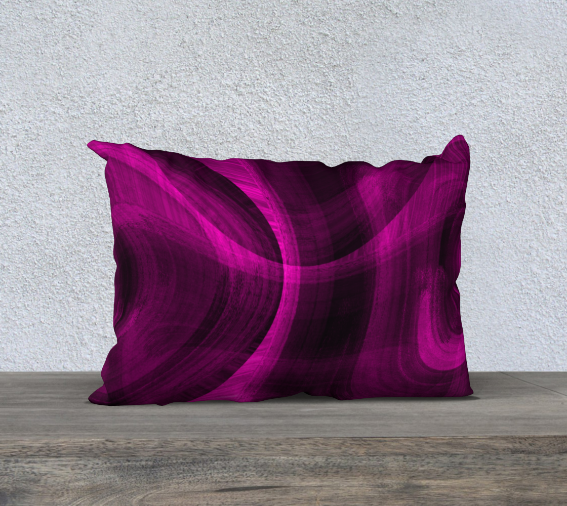 Pinkish Black Hole 20x14 Pillow Case preview