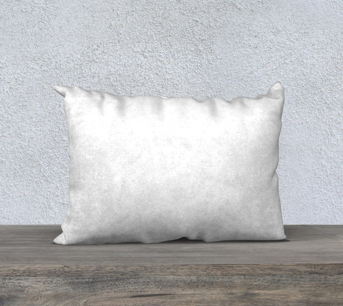 Labrador Retriever chocolate cartoon 20 x 14 pillow case preview #2