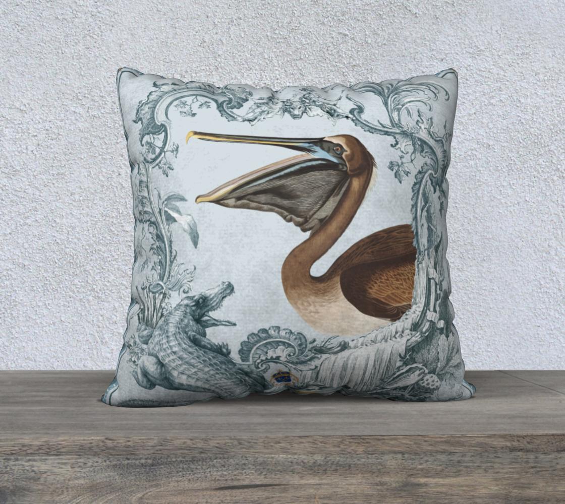 Louisiana Pelican Cushion preview