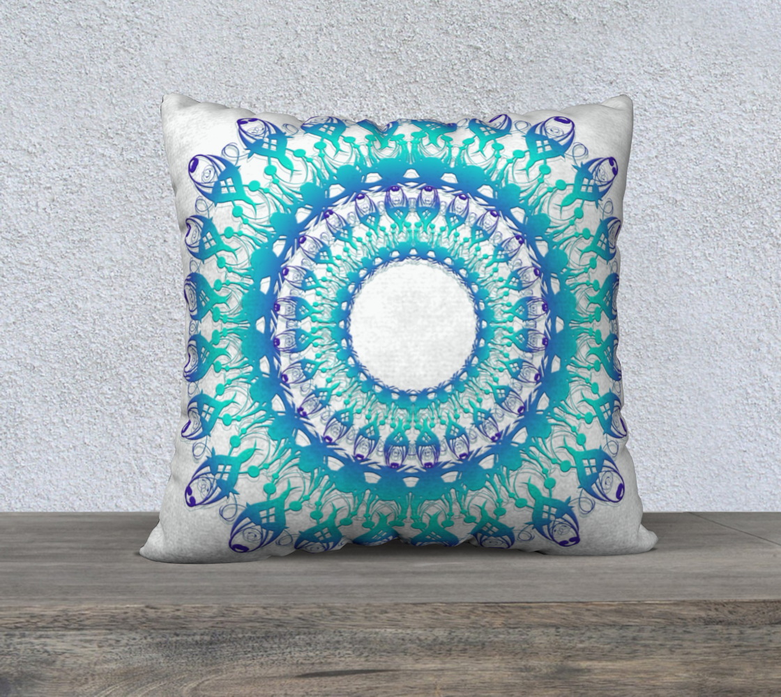 Floral Ethnic Turquoise Mandala preview