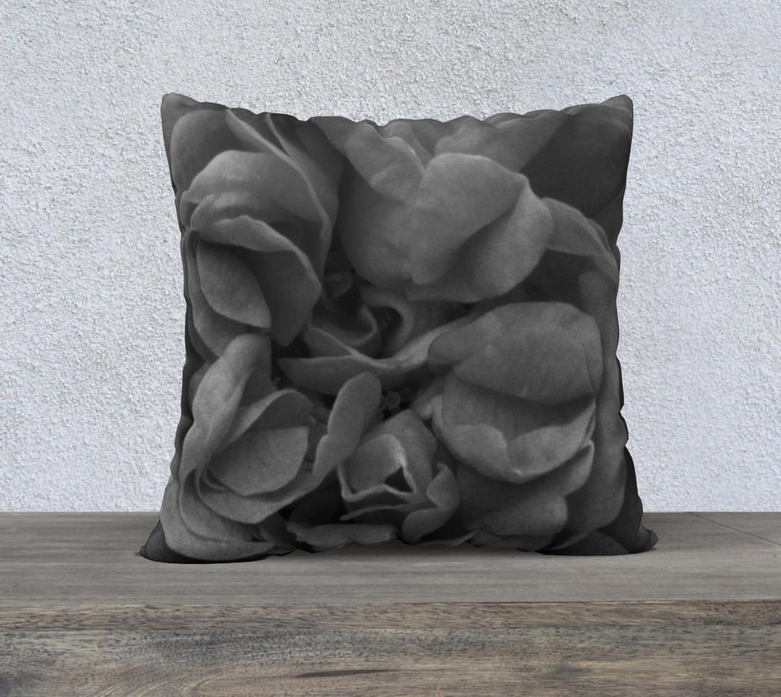 Aperçu de Black Rose Pillow  22 160527a