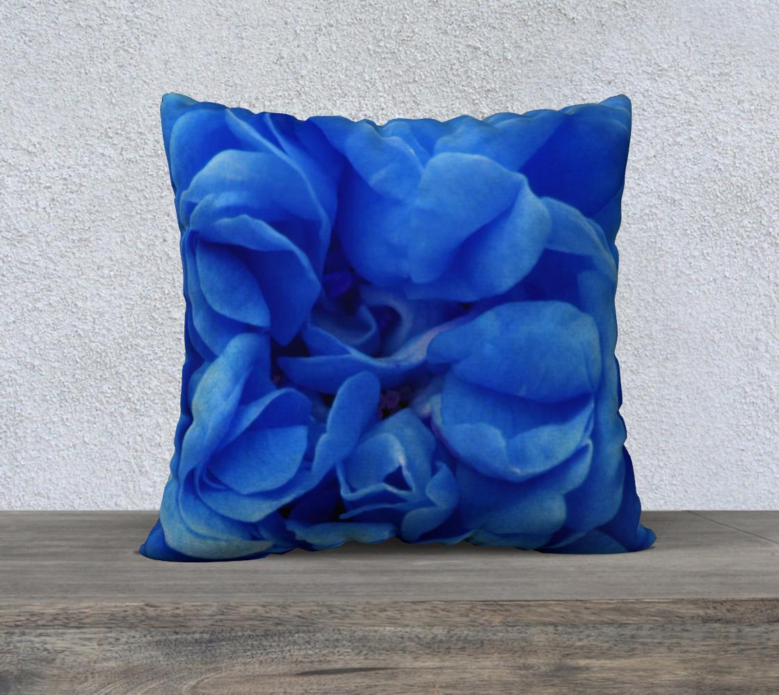 Aperçu de Blue Rose Pillow 22 160626a