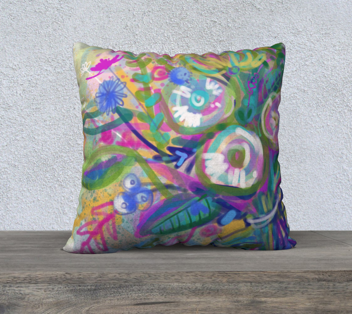 """Coussin 22x22"""" Floral preview"""
