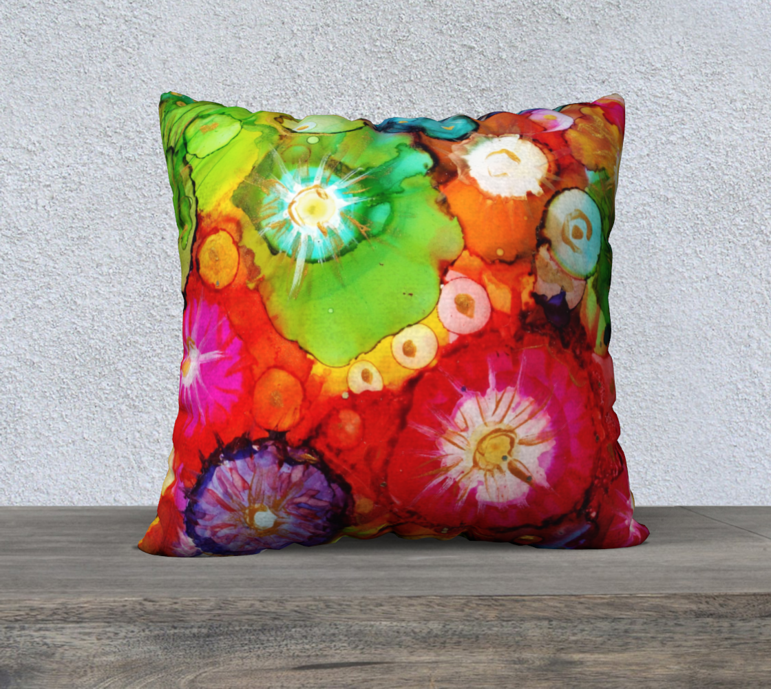 Shares Posies Pillow preview