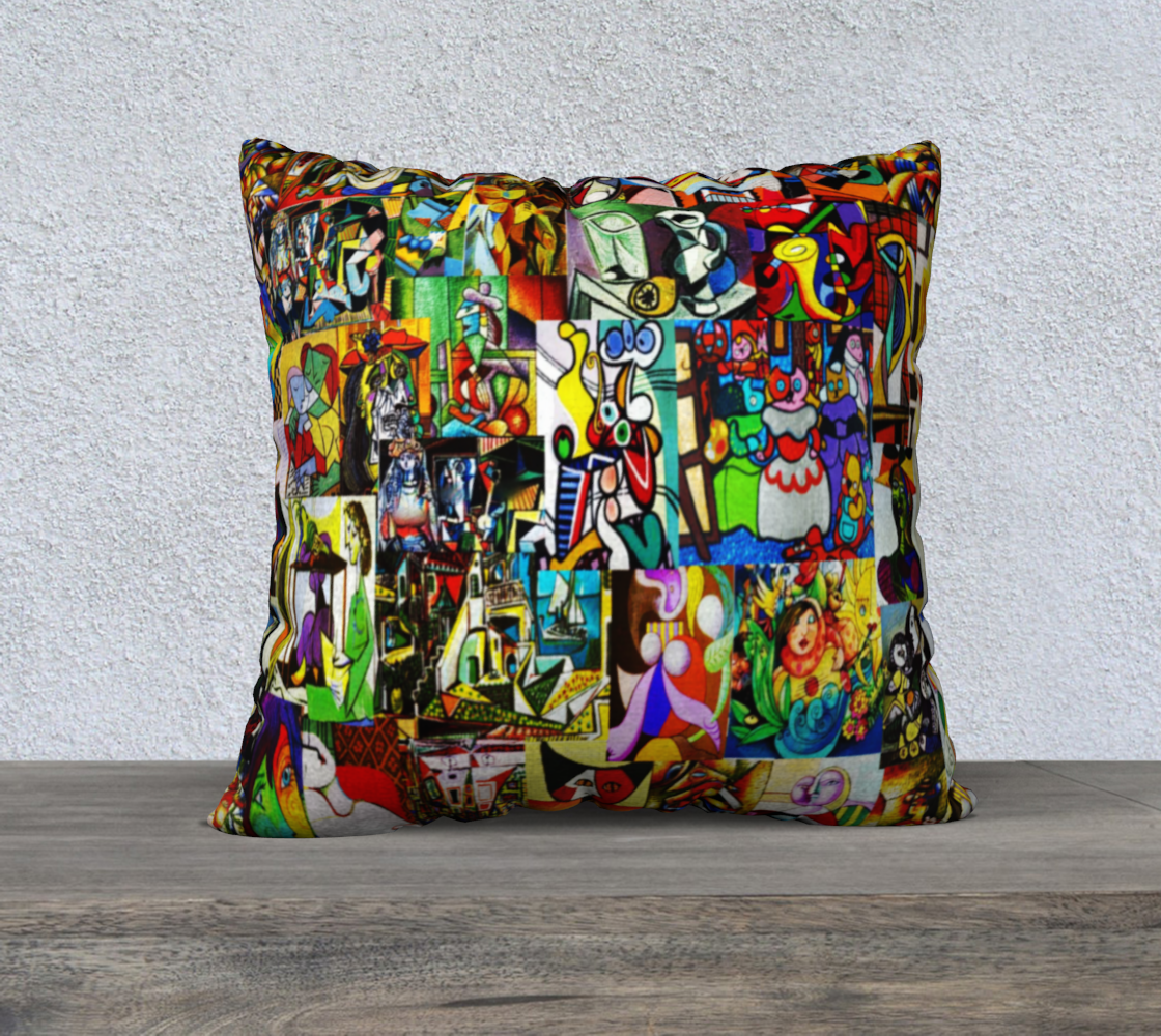Picasso pillow preview