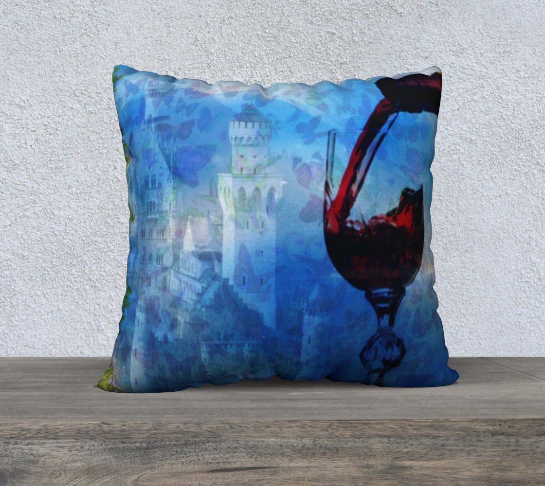 Chateau pillow preview