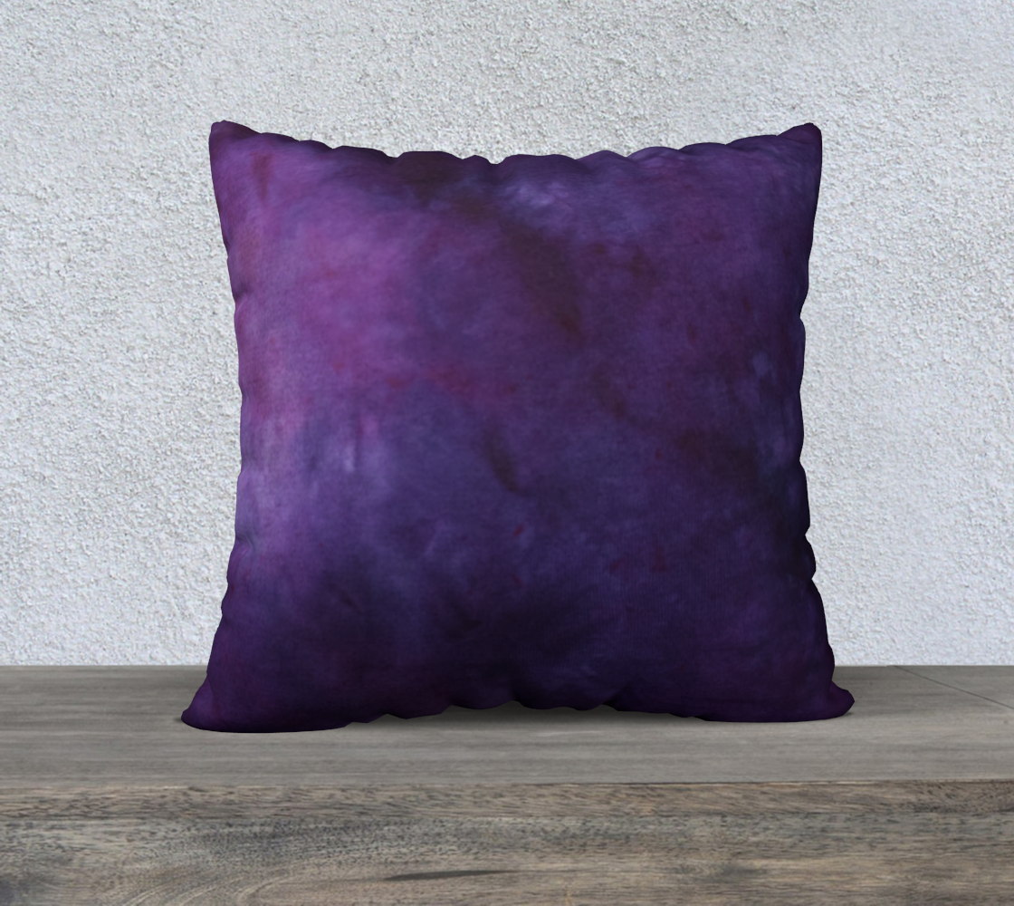 Plum and Power Berry 22 pillow case preview