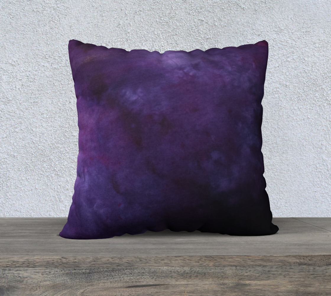 Plum and Power Berry 22 pillow case 2 preview