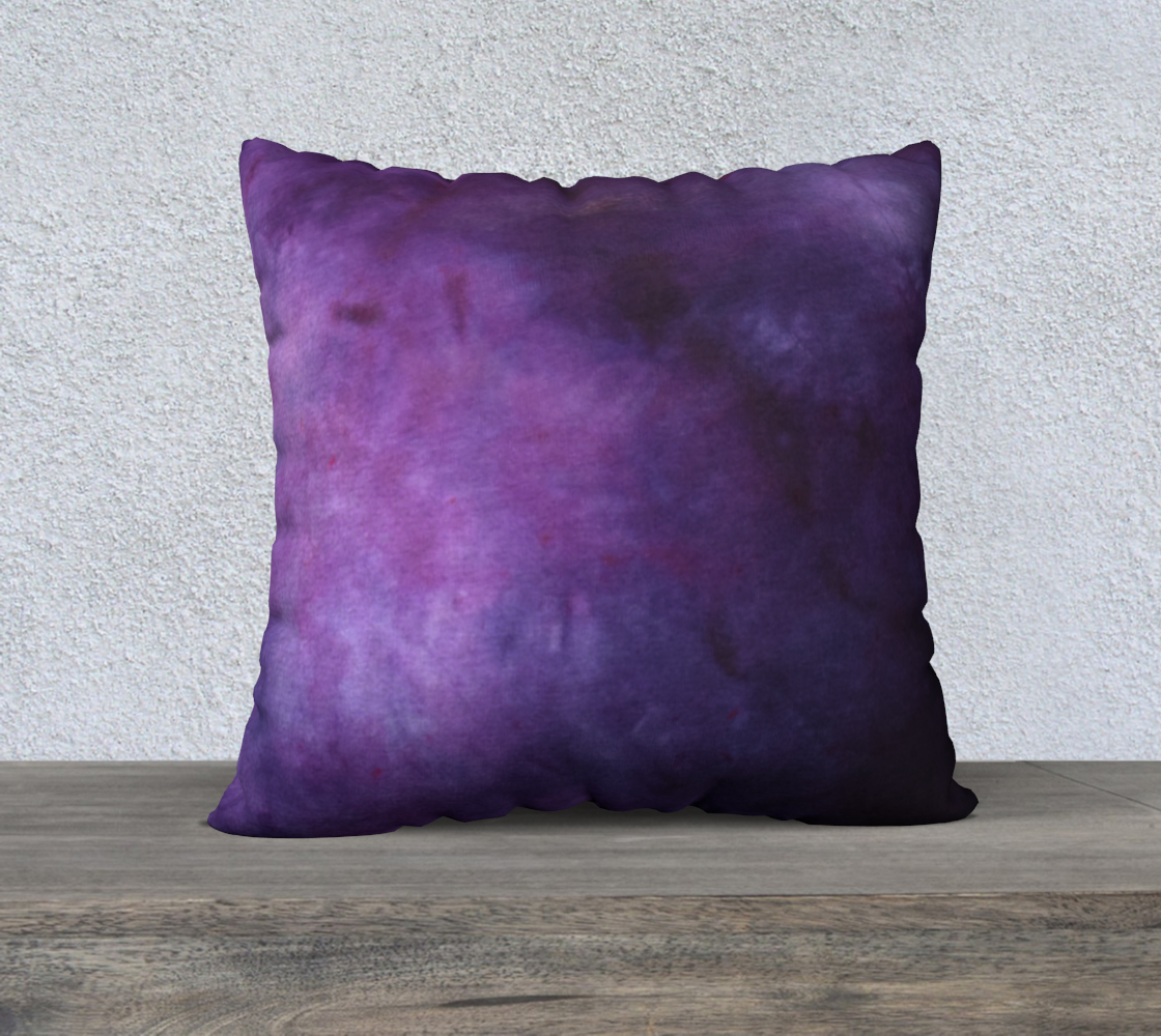 Plum and Power Berry 22 pillow case 3 preview