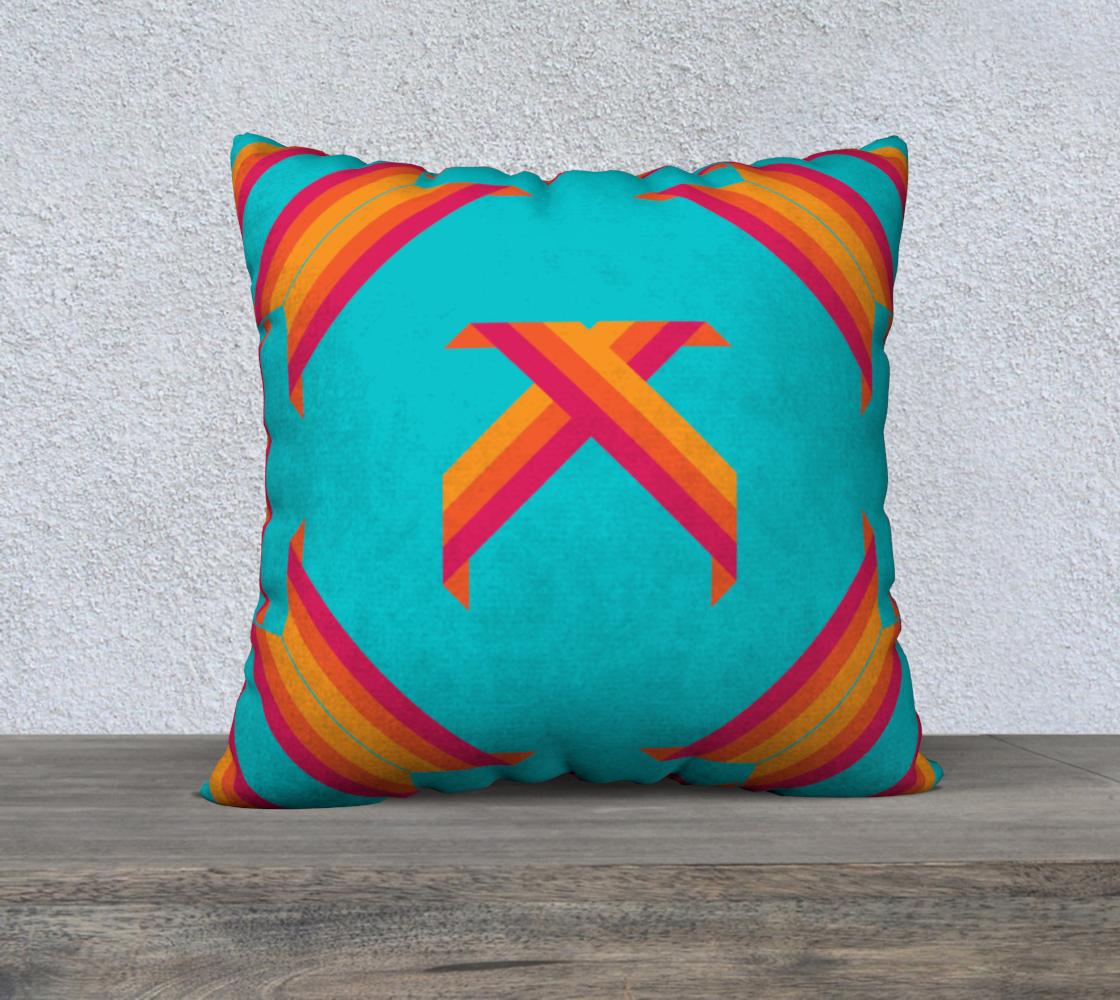 Aperçu de Ornaments design pillow!