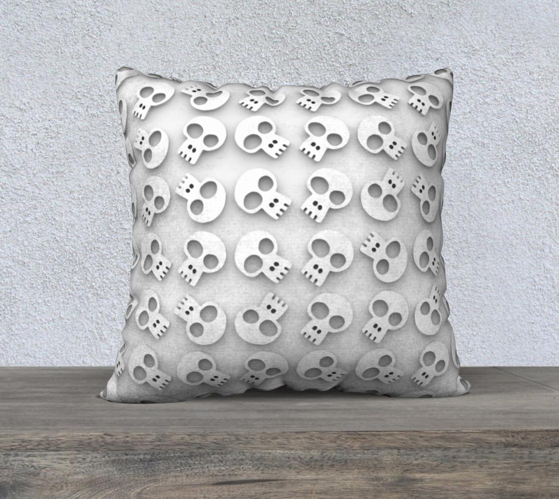 Skull Cluster on White preview