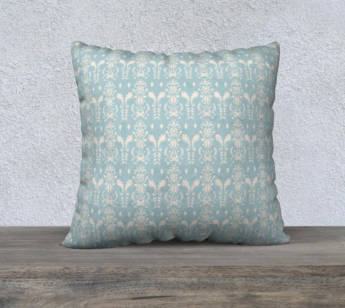 Aperçu de French Blue Pillow 22x22